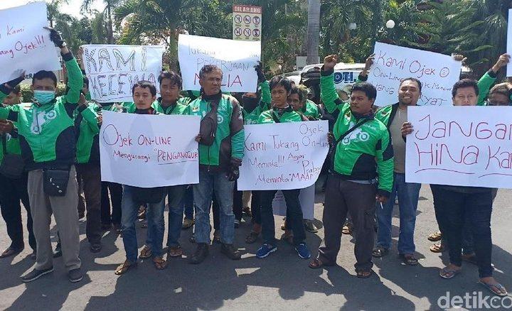 Ojol Demo, apakah Prabowo Salah ? atau korban meme ?