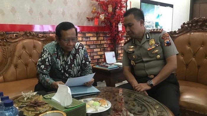 Komentar Singkat Waras Kasus Mobill Camry Mahfud MD : Mulutmu Harimaumu
