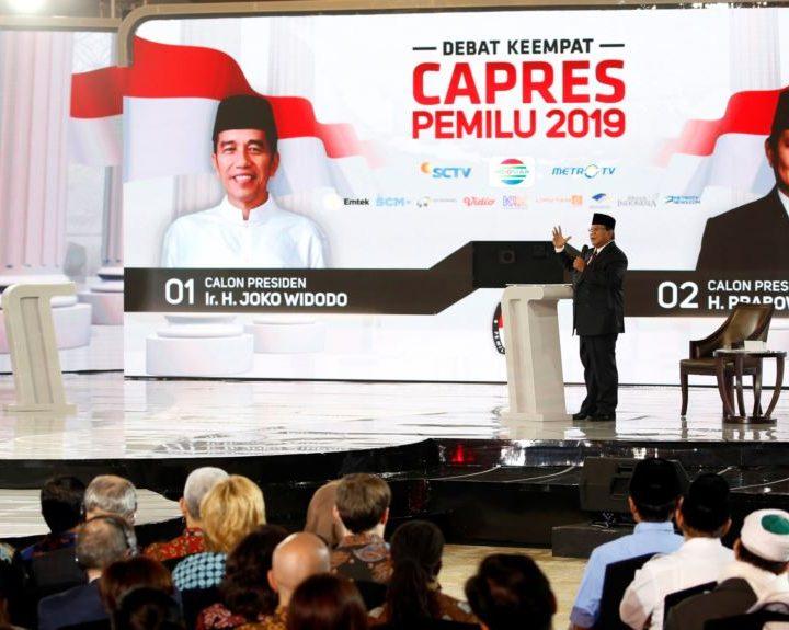 Debat  Pilpres ke 4 2019 : Sebetulnya Kayak Curhat