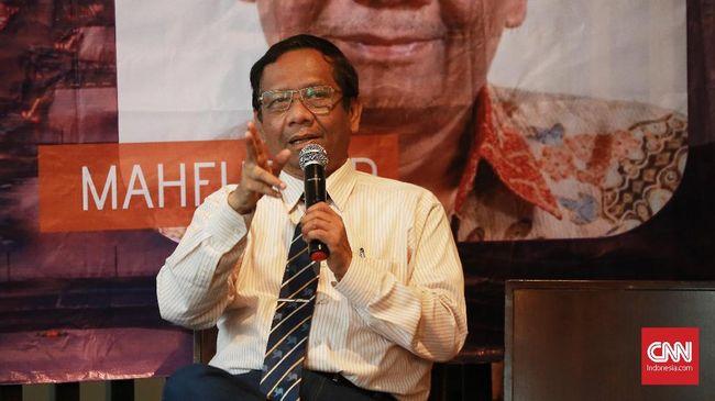 "Komentar Singkat Mahfud MD Dan Komentar "" Provinsi Garis Keras"""