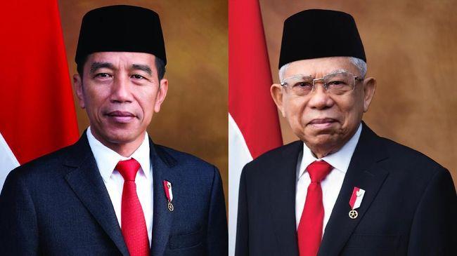 Selamat Kepada Presiden dan Wakil Presiden 2019-2024 Joko Widodo dan Ma'aruf Amin